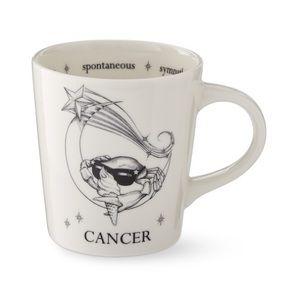 WILLIAMS SONOMA Cancer Horoscope Mug